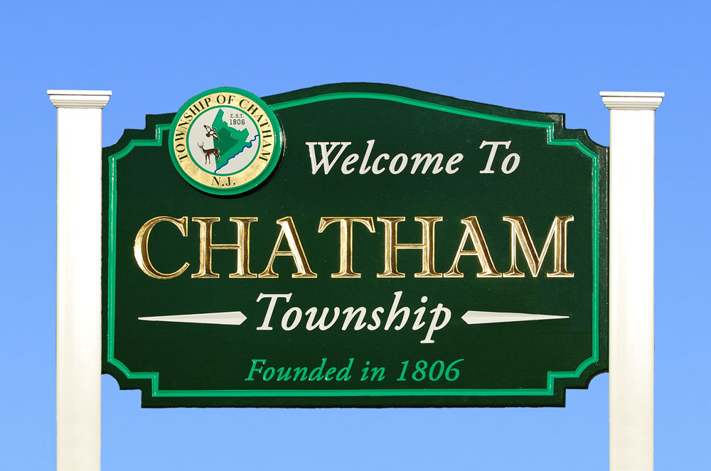 Chatham Township Welcome Sign